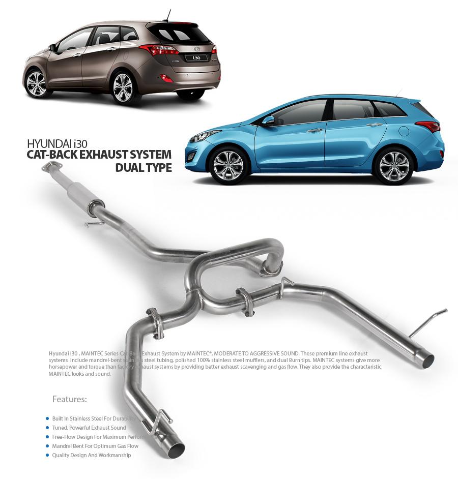 Hyundai Elantra Cat Back Exhaust