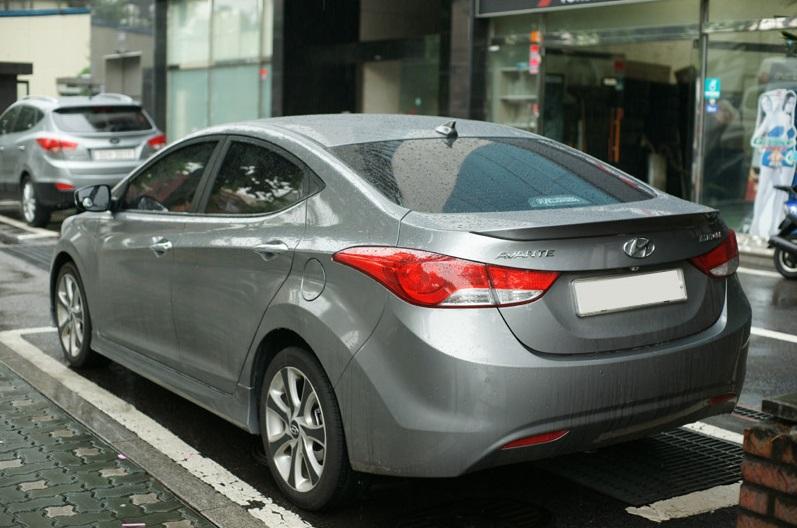 Trunk Spoiler For Hyundai 2011 2015 Elantra Md Ebay