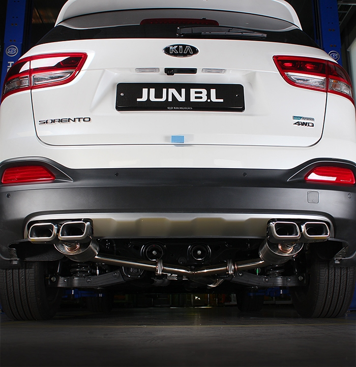 2011 Kia Sorento Accessories: Dual Exhaust System For KIA 2016 - 2017 SORENTO