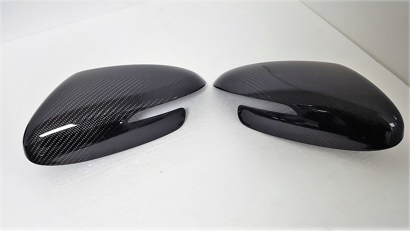 Real Carbon Side Mirror Cover Lid For Kia 2014 2015 2016