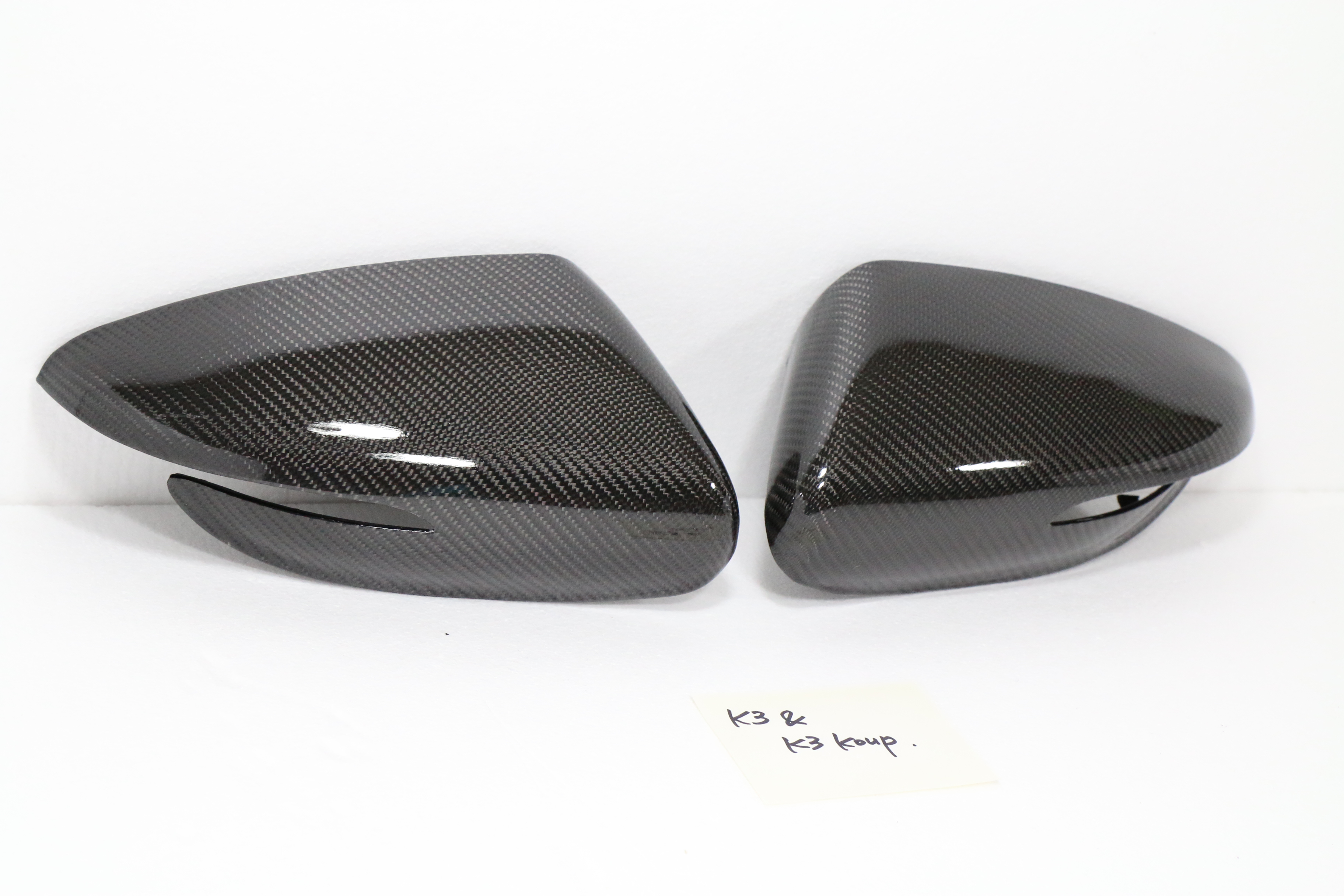 Real Carbon Side Mirror Cover For Kia 2014 2016 Forte